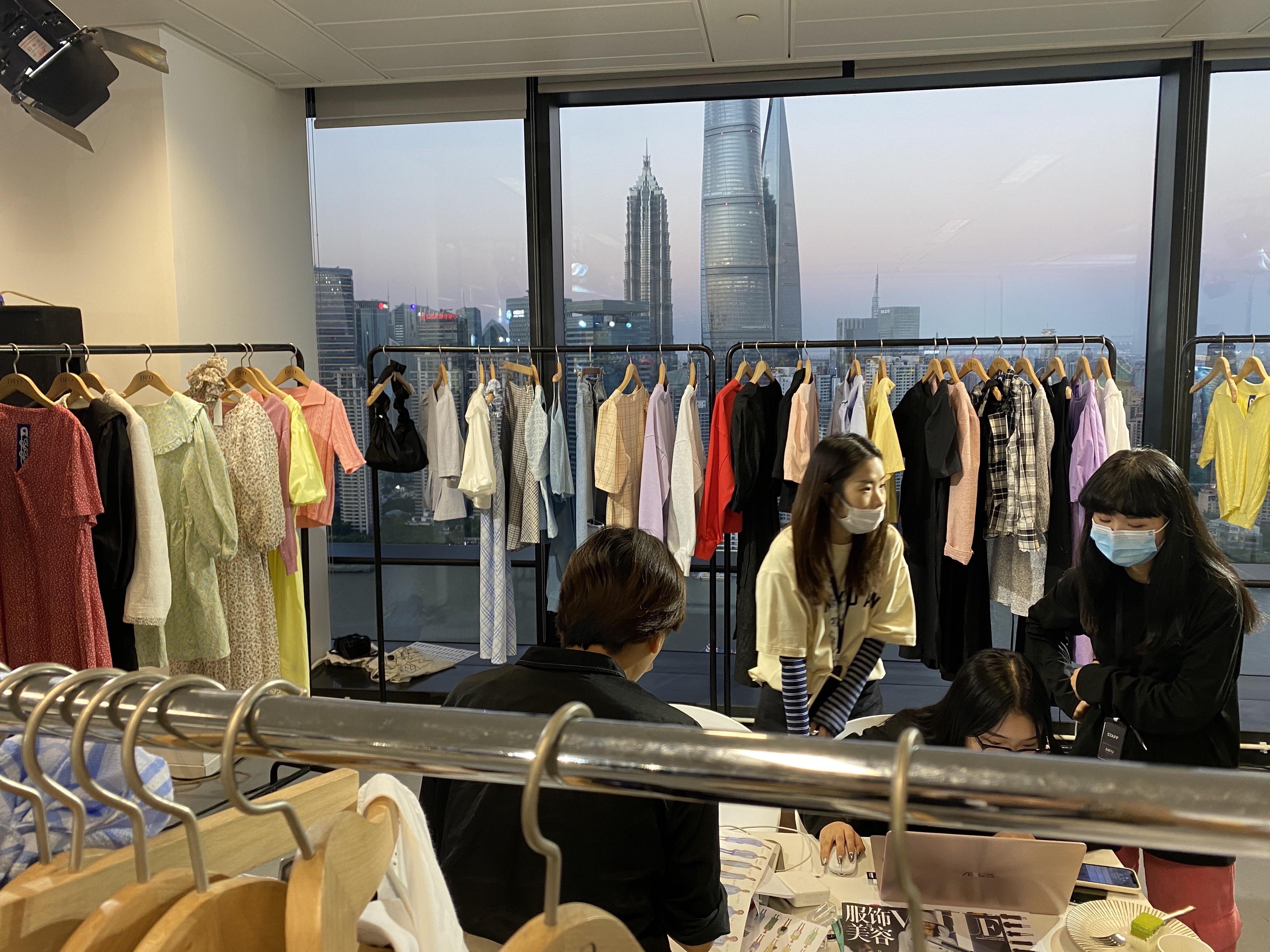A showroom in Shanghai