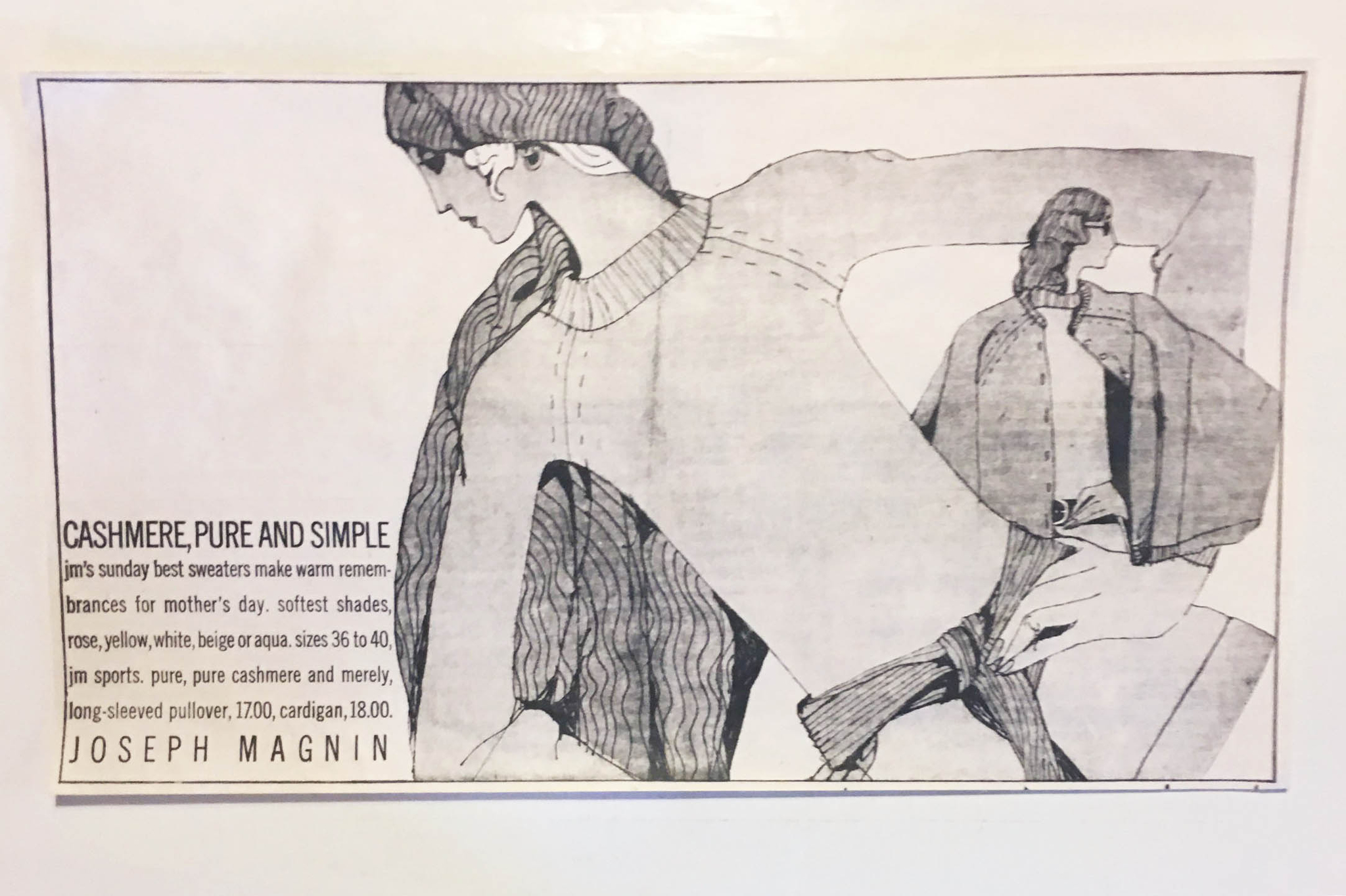 A Joseph Magnin ad by Richard Rosenfield.