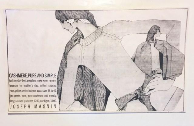 A Joseph Magnin ad by Richard Rosenfield.