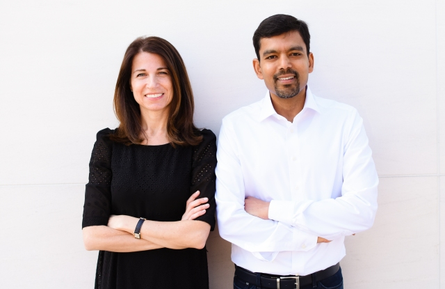The Yes cofounders Julie Bornstein and Amit Aggarwal.