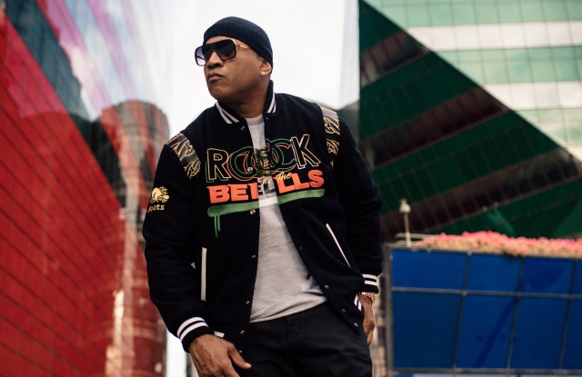 LL Cool J in looks from his new Chain Collection for Rock the Bells.