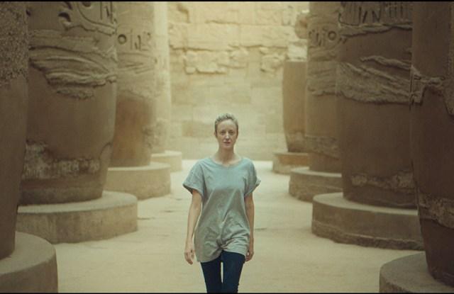"Andrea Riseborough in a still from ""Luxor."""