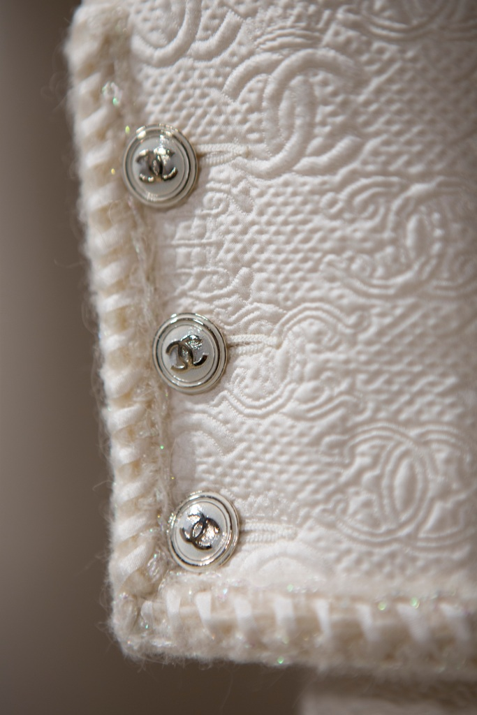 A detail from Chanel's Métiers d'Art 2021 collection.