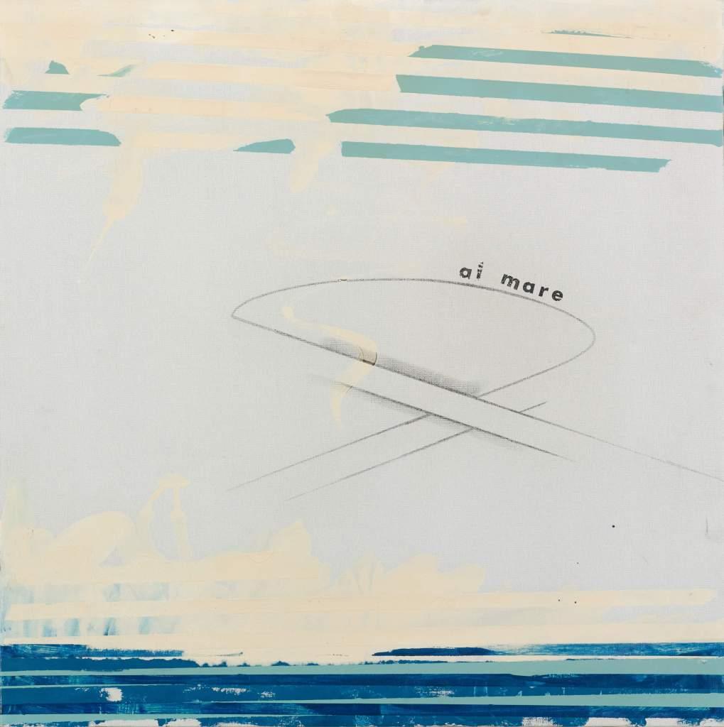 Mario Schifano's 'Al Mare'