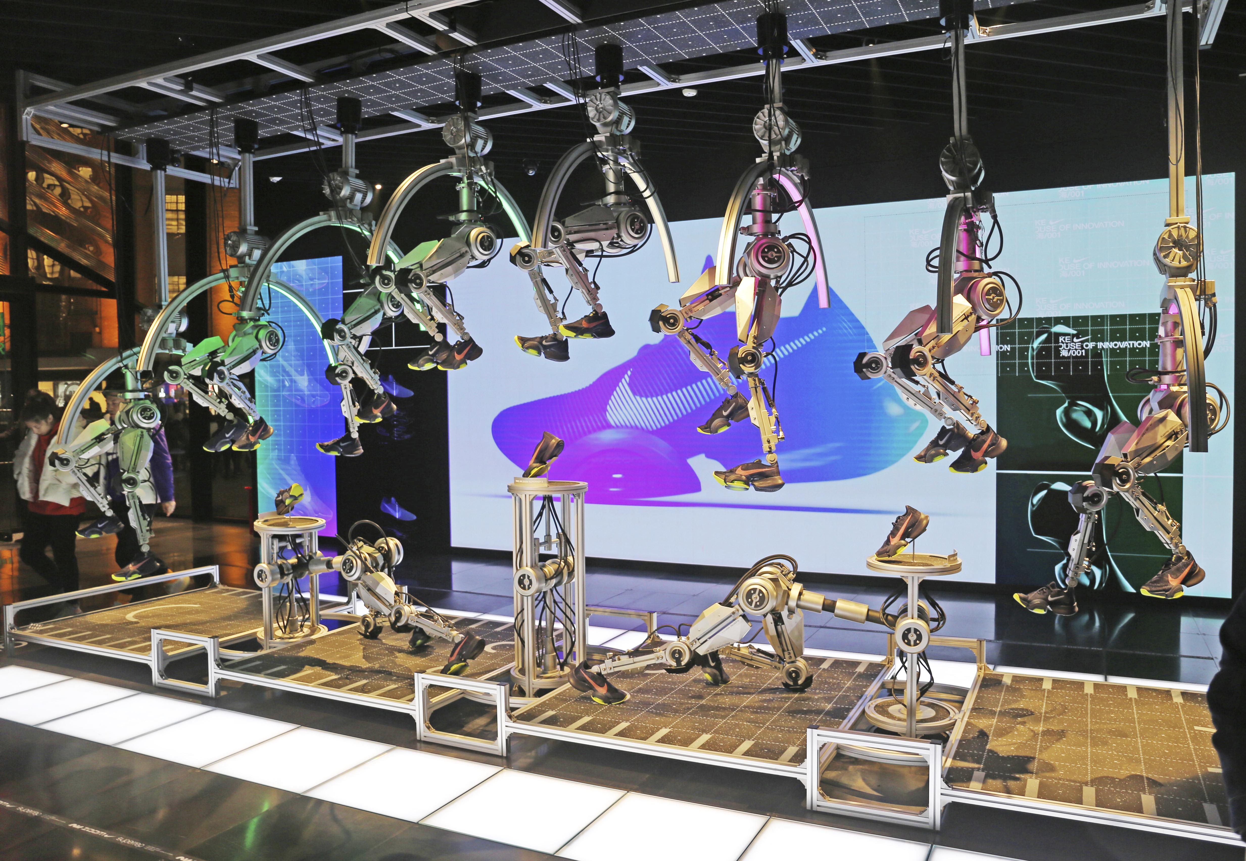 Nike store Shanghai