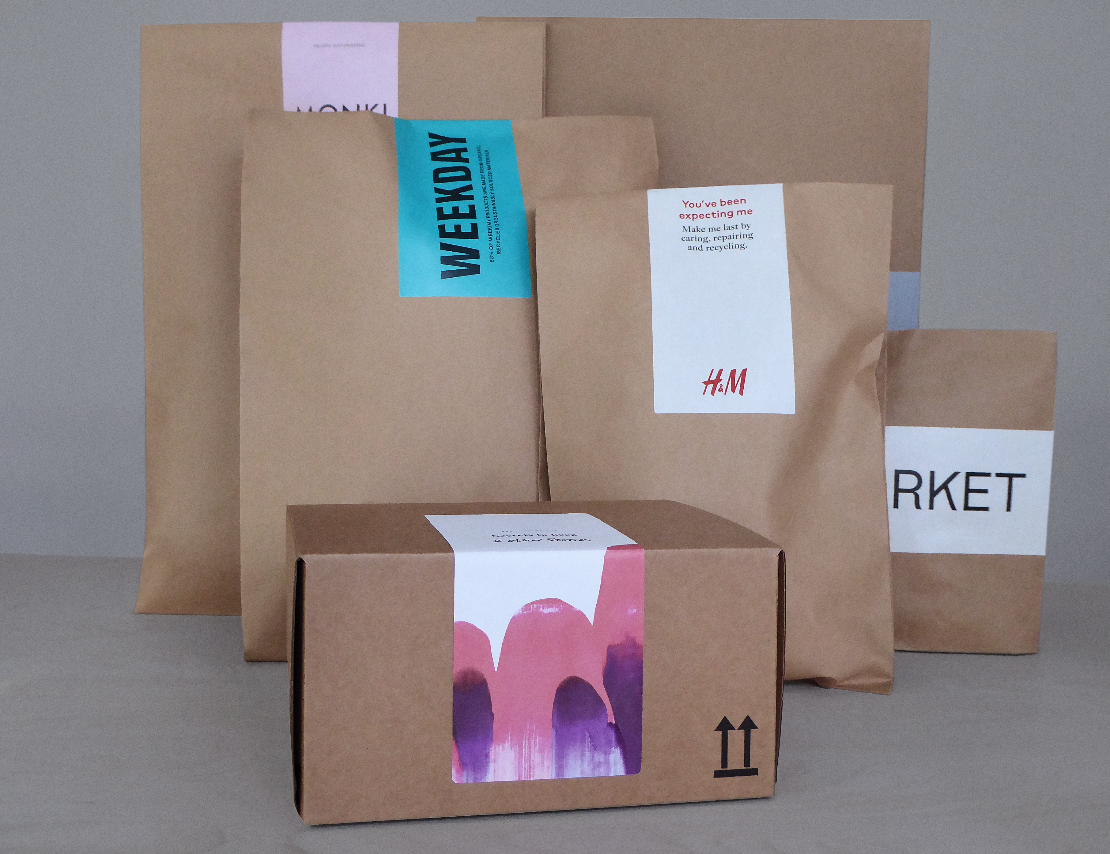 H&M Group packaging