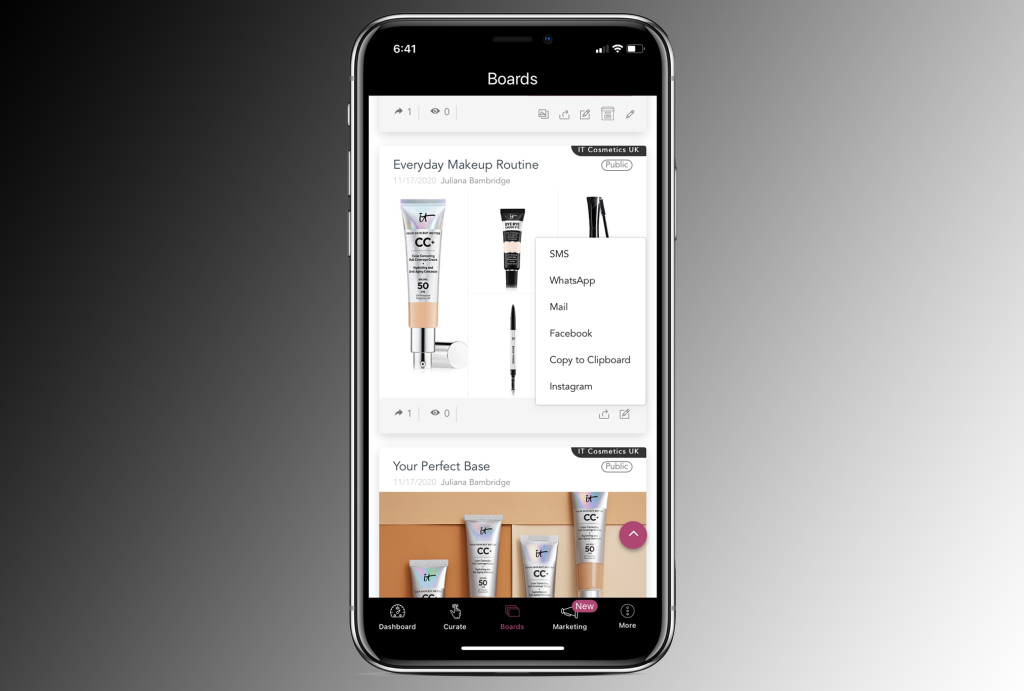 L'Oréal invested in Replika Software Inc. in December 2020.