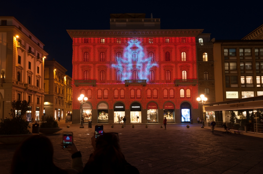 The Rinascente department store in Florence, which will reopen on Dec. 16.