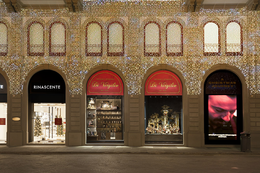 The Rinascente Florence's unit storefront.