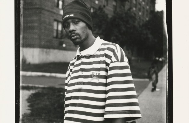 RZA on Staten Island in 2000, by Ashkan Sahihi as seen in 'The New York Years'