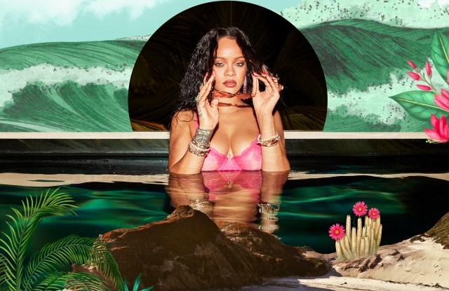 Rihanna lingerie