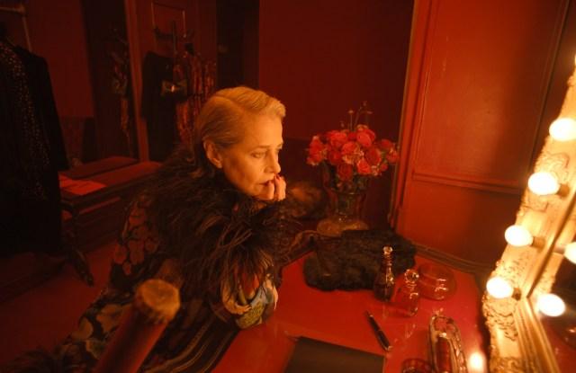 "Charlotte Rampling in Saint Laurent's ""Summer of '21"" short film."