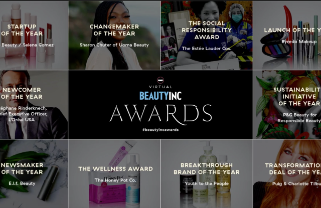 2020 WWD Beauty Inc awards