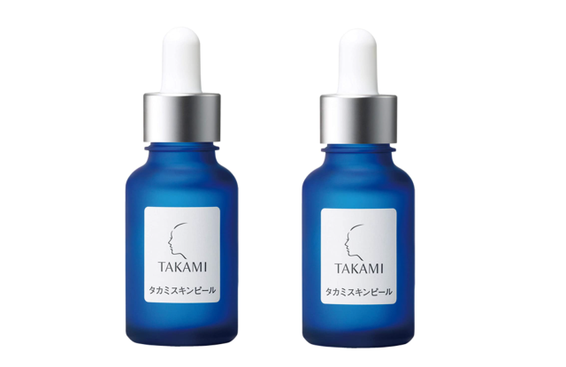 Takami's iconic product is the Skin Peel.
