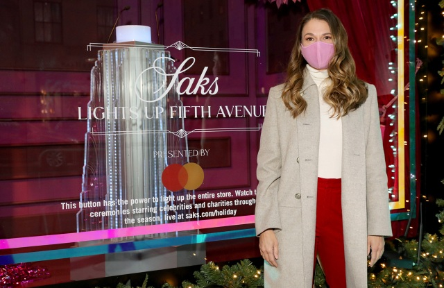 NEW YORK, NEW YORK - DECEMBER 01: <> on December 01, 2020 in New York City.  (Photo by Monica Schipper/Getty Images for Saks Fifth Avenue)