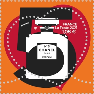 Chanel No.5 stamp