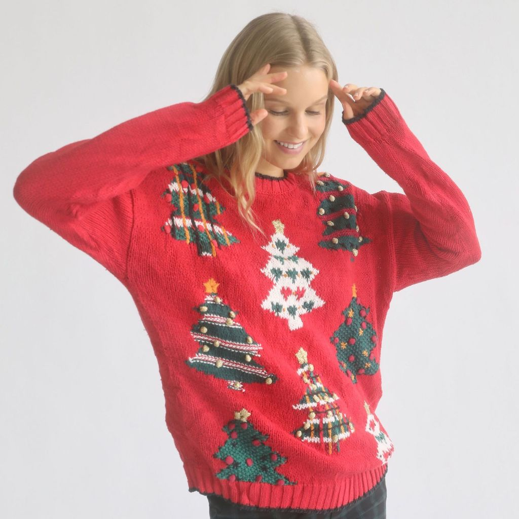 Holiday Sweaters 2020 Urban Outfitters Urban Renewal Vintage Holiday Sweater