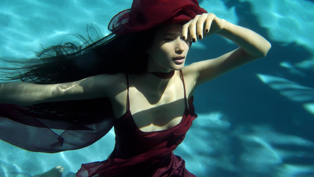 """Varsha Thapa in the music video for """"Adhuro."""""""