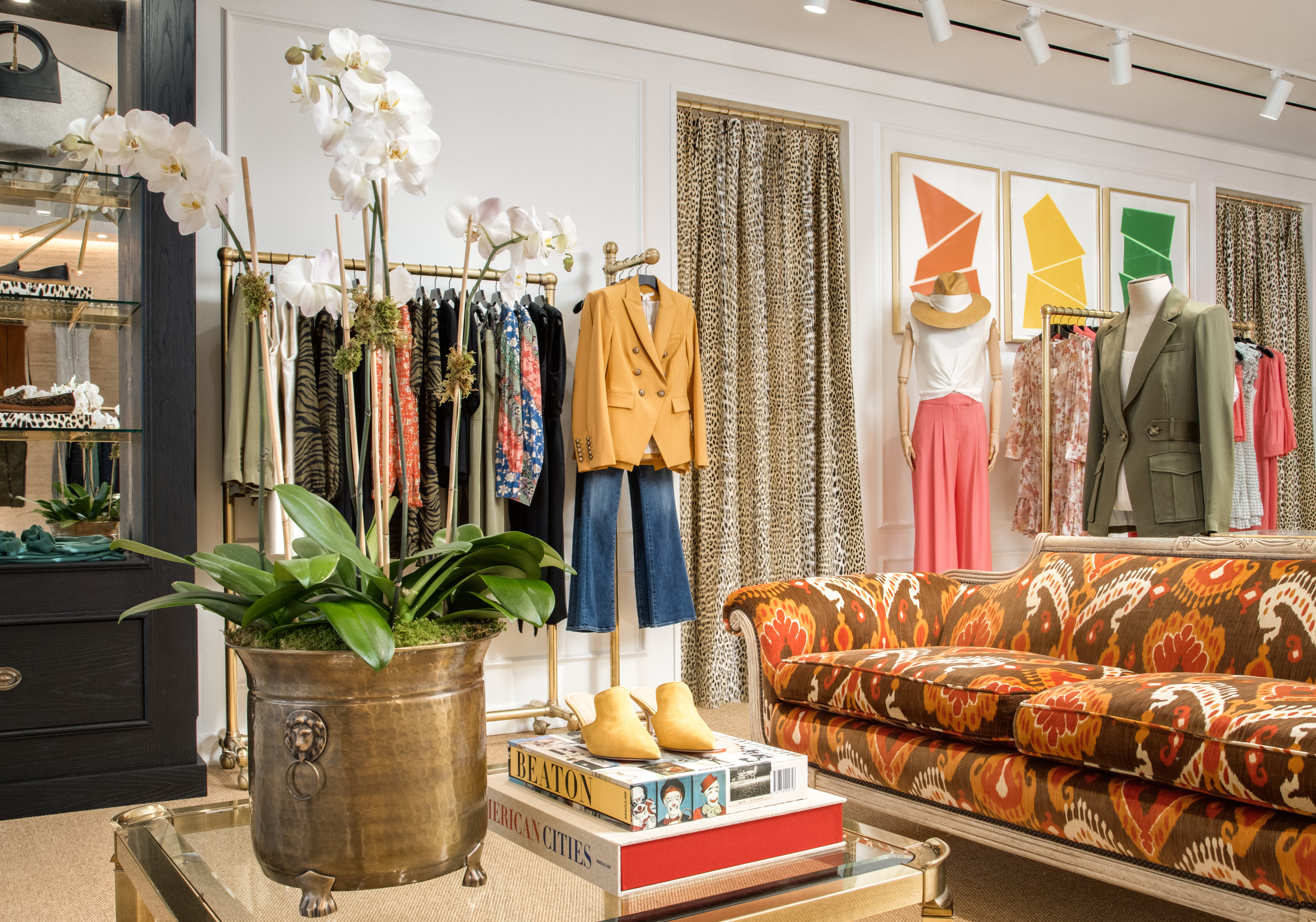 The interior of Veronica Beard's Georgetown store which opened in September.