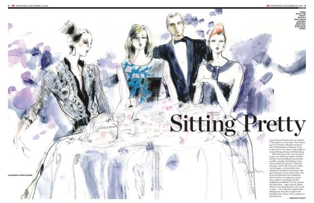 Designer Eveningwear for 2014 from Carolina Herrera, Oscar de la Renta, Michael Kors and Brooks Brothers.
