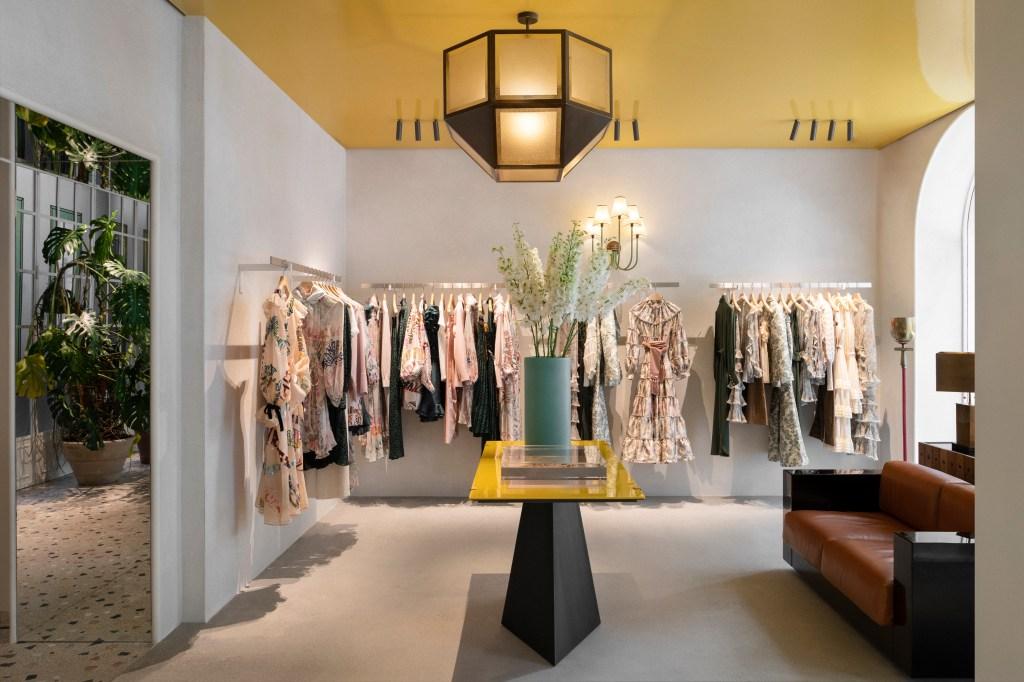Zimmermann store in Milan
