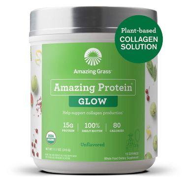amazing grass, best plant based collagen powders