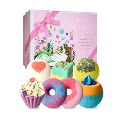 amazon, best bath bomb gift set