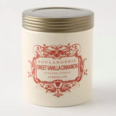 ilume sweet vanilla and cinnamon candle
