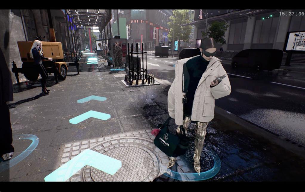 Balenciaga's videogame Afterworld: The Age of Tomorrow