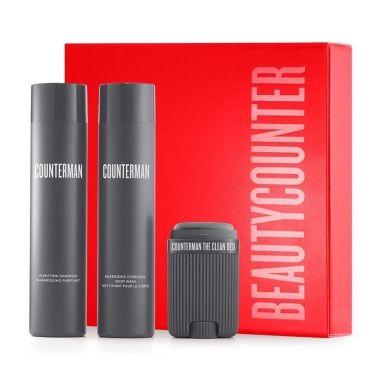 beautycounter counterman fresh essentials gift set, beautycounter holiday