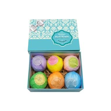 bellisso natural spa, best bath bomb gift sets