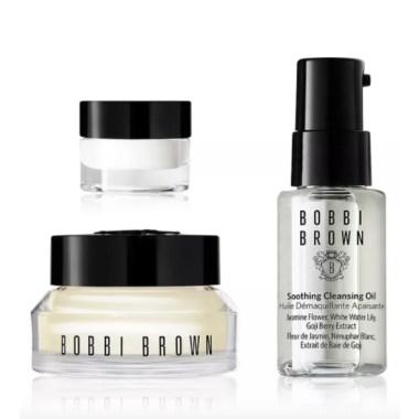 bobbi brown skin care set