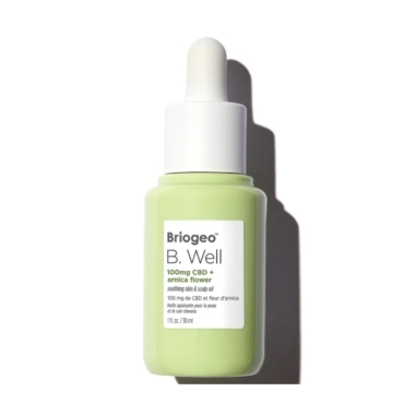 briogeo b well scalp oil cbd hair products