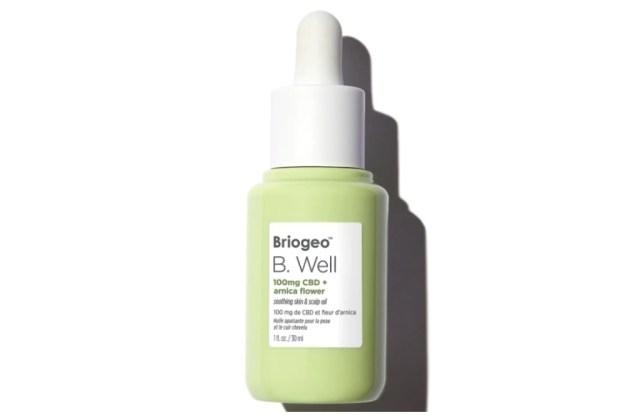 briogeo b well scalp oil cbd hair products