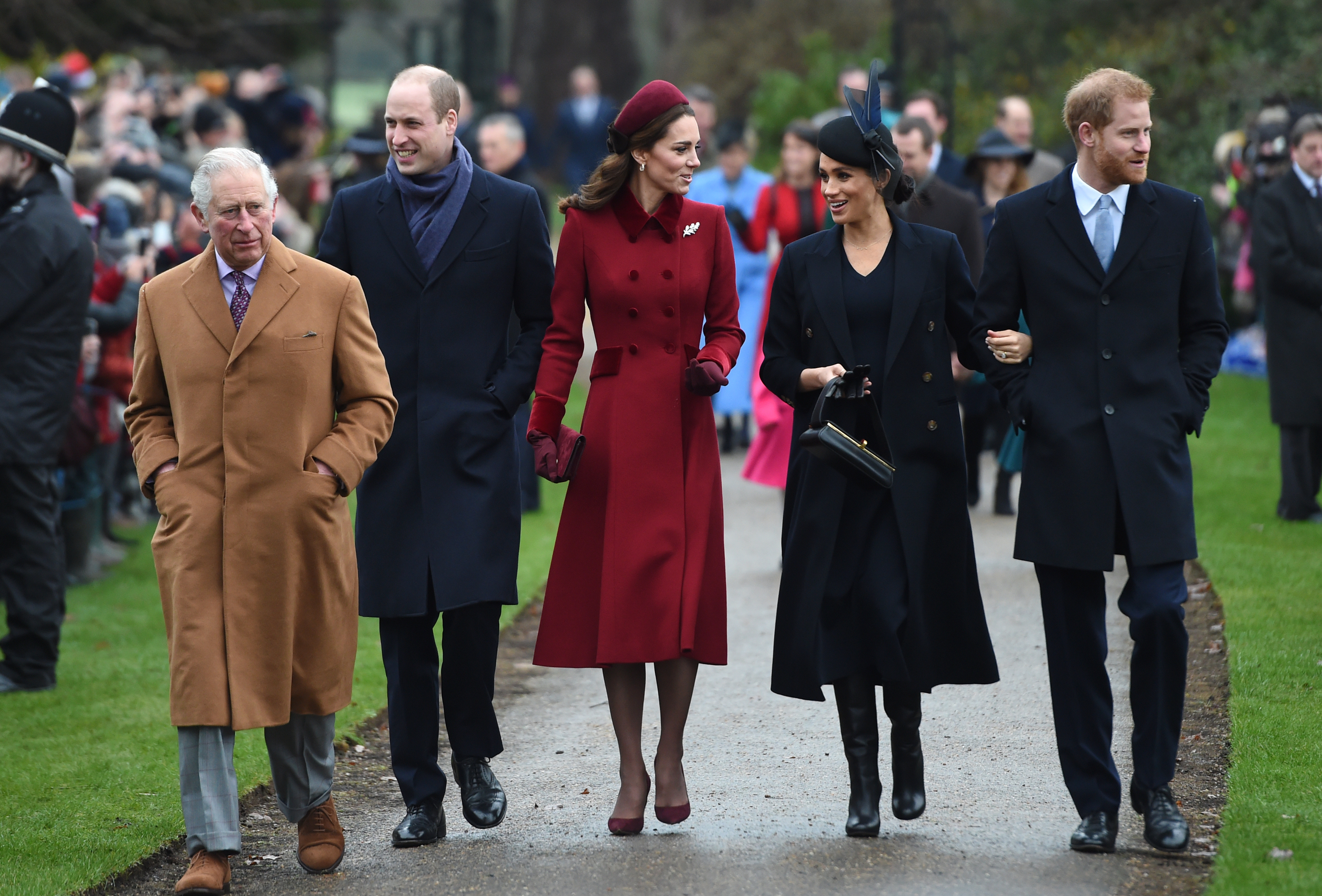 British Royal Family Christmas Through the Years