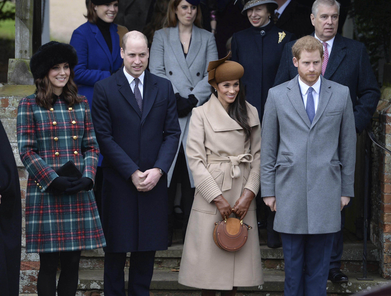 British Royal Family Christmas Through the Years