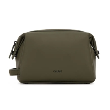 Calpak Hue Faux Leather Toiletry Bag