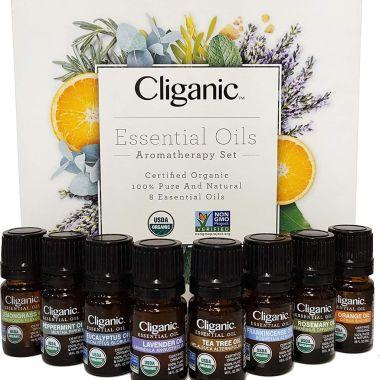 cliganic essential oils set