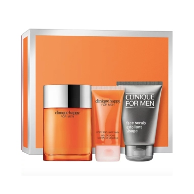 clinique Happy For Him Set mens fragrance gift set