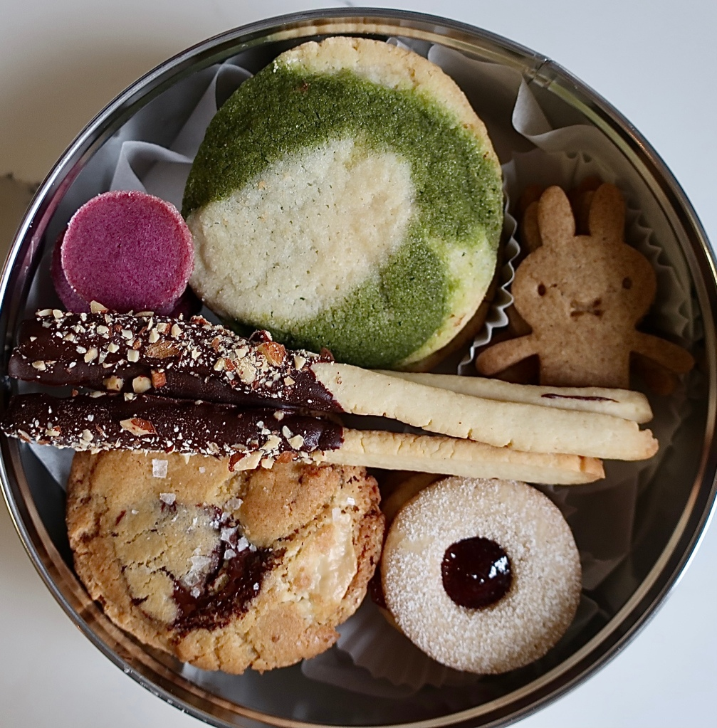 Melissa Weller x Musket Room cookie tin.