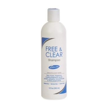free and clear, best fragrance free shampoos