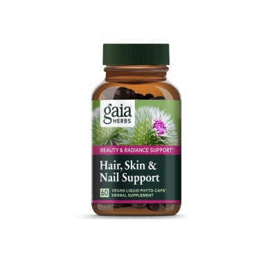 gaia herbs, best hair nails and skin vitamins
