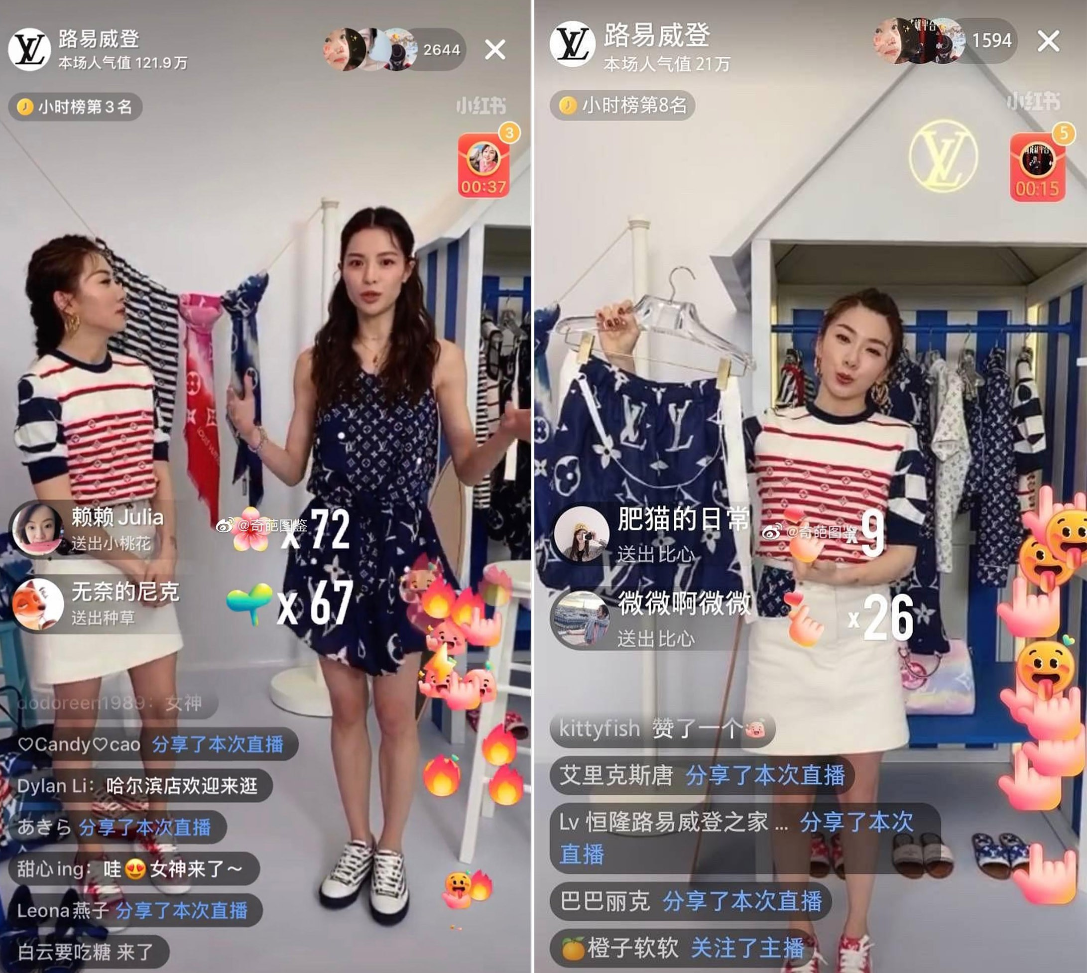 Louis Vuitton is one of the first luxury brands to promote its products via live streaming in China.