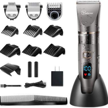 Hatteker Men's Cordless Hair Clipper best hair cutting tools set