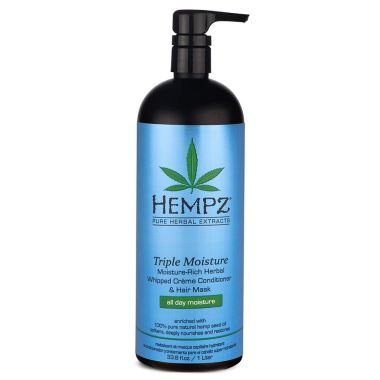 hempz triple moisture conditioner cbd hair products