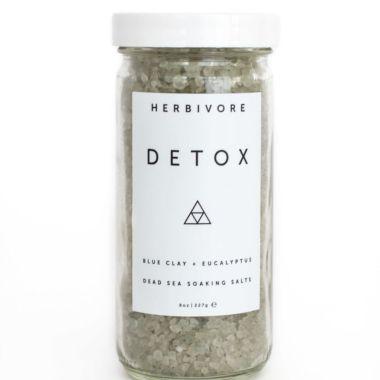 herbivore, best detox bath salts