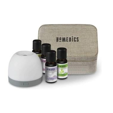 Homedics Essential Oil & Diffuser Gift Set