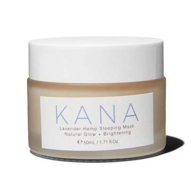 kana skincare, best cbd face masks