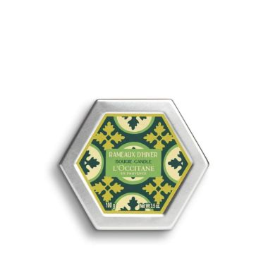 loccitane winter christmas candle
