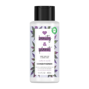love beauty and planet conditioner cbd hair products